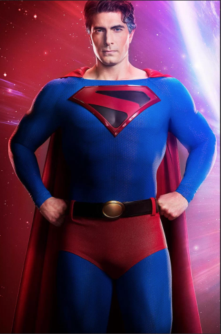 Brandon Routh Shows Off Kingdom Come Superman Look for 'Crisis on Infinite Earths'