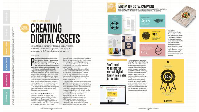 Get started with editorial design