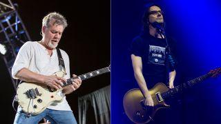 Eddie Van Halen and Steven Wilson