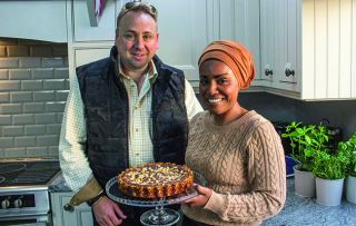 Nadiya's foodie adventure continues with a visit to East Anglia.