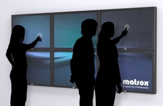 Matrox and 3M Collaborate for Interactive Multi-Touch Solutions