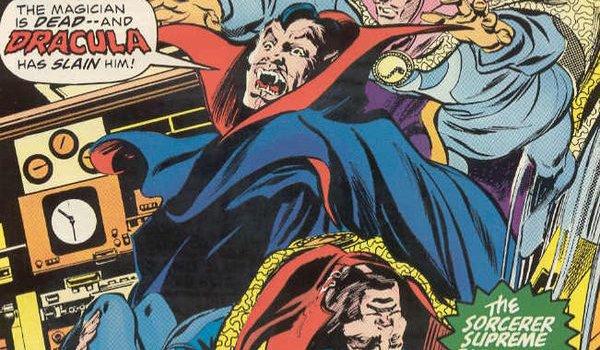 Dracula and Doctor Strange in Marvel Comics
