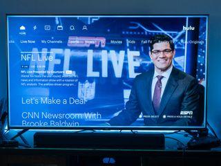 NFL studio show on Hulu Live TV