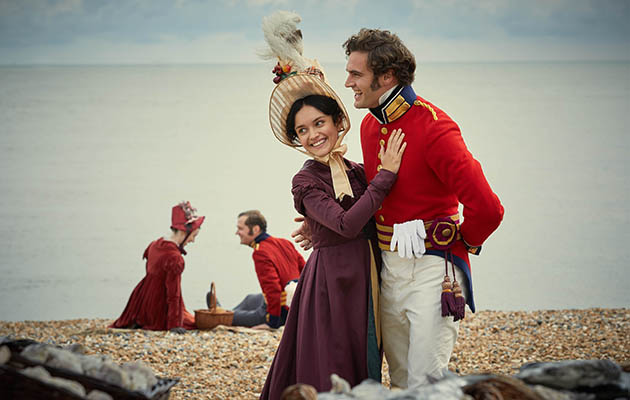 ITV VANITY FAIR OLIVIA COOKE & TOM BATEMAN