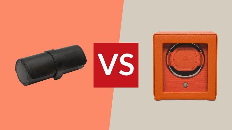Watch roll vs watch winder