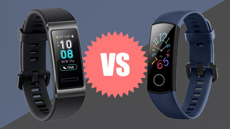 Huawei Band 3 Pro vs Honor Band 5 fitness tracker comparison