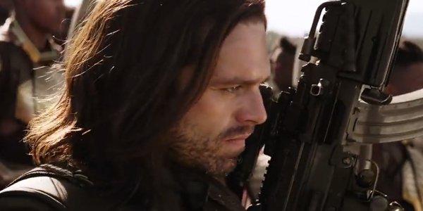Bucky Barnes Sebastian Stan The Avengers Infinity War