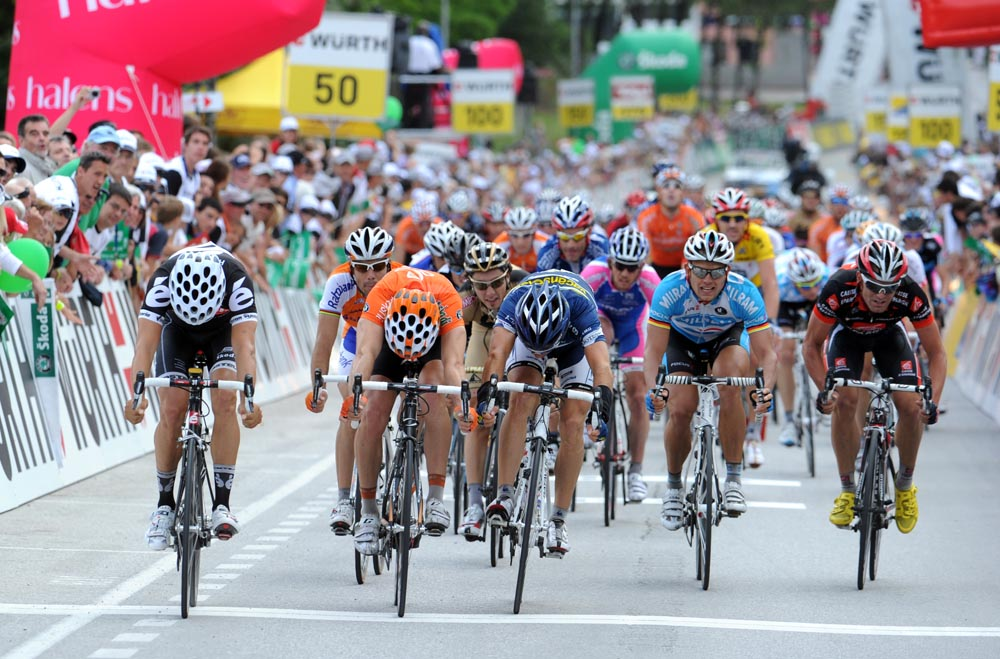 Heinrich Haussler, stage winner, Tour de Suisse 2010, stage 2