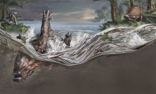 When the nodosaur <em>Borealopelta markmitchelli</em> died 110 million years ago, it was swept out to sea, out of the reach of predators.