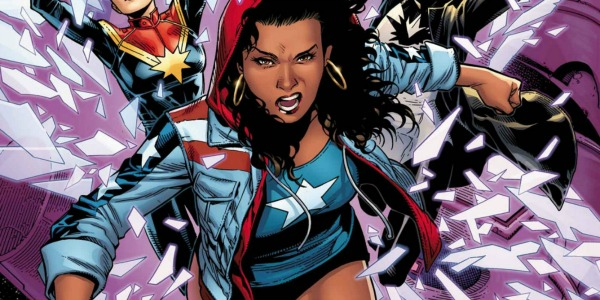 America Chavez preparing to fight
