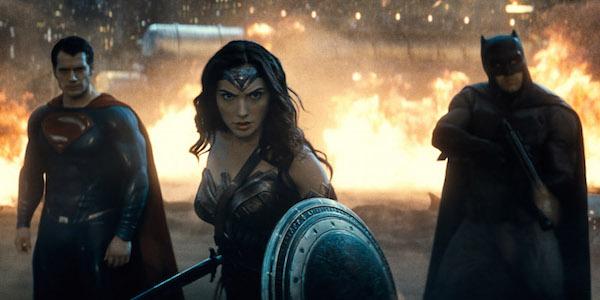 Batman, Superman and Wonder Woman in DCEU