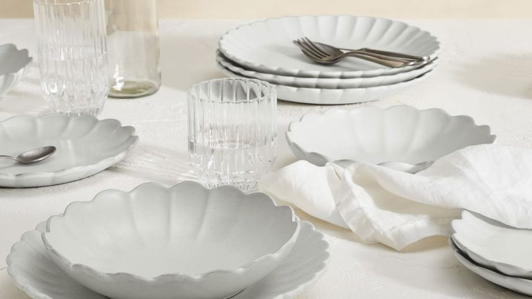 New in at Made: Caeser 12 Piece Scalloped Edge Dinner Set