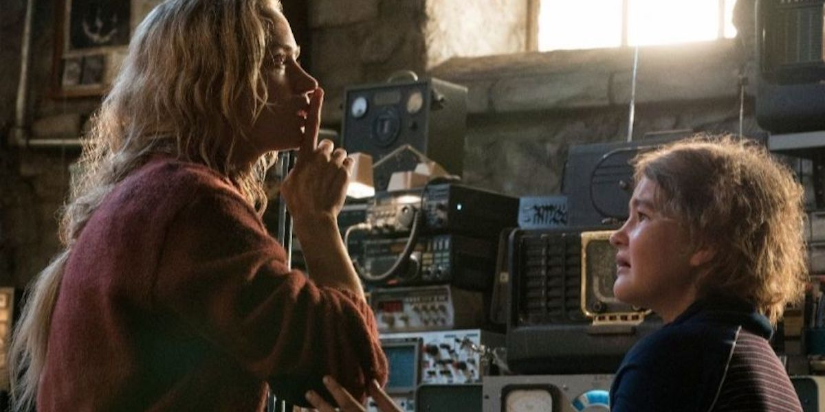 Emily Blunt and Millicent Simmonds in Quiet Place