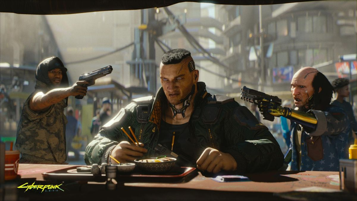 Cyberpunk 2077 frame by frame trailer series talks gun laws in Night City