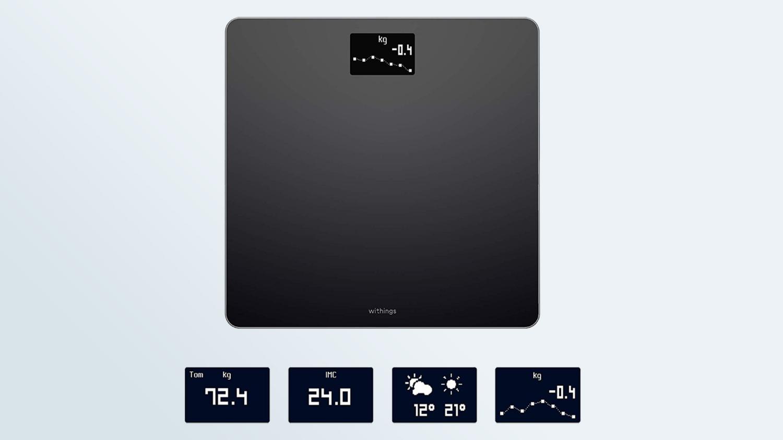 Melhores escalas inteligentes: Withings (Nokia) Body