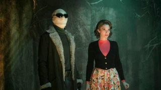 Matt Bomer and April Bowlby in Doom Patrol season 3 on HBO Max