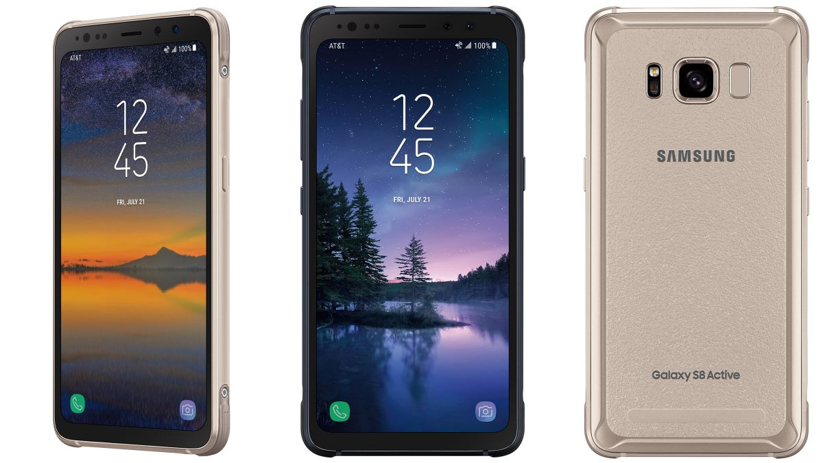 Samsung Galaxy S8 Active Is The First All Screen Phone