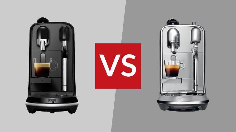 Nespresso Creatista Uno vs Creatista Plus
