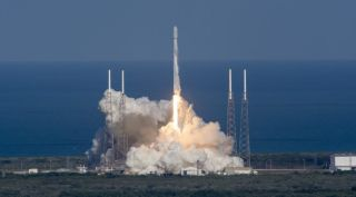 SpaceX Falcon 9 Launch with Thaicom 8