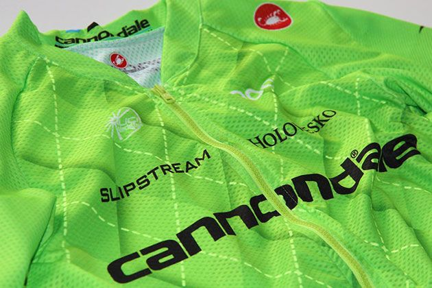 Cannondale Pro Cycling Team unveils new jersey... at last - Cycling ... b1d5c65ef
