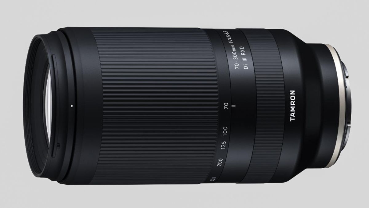 "Tamron reveals ""the world's smallest and lightest 70-300mm zoom"""