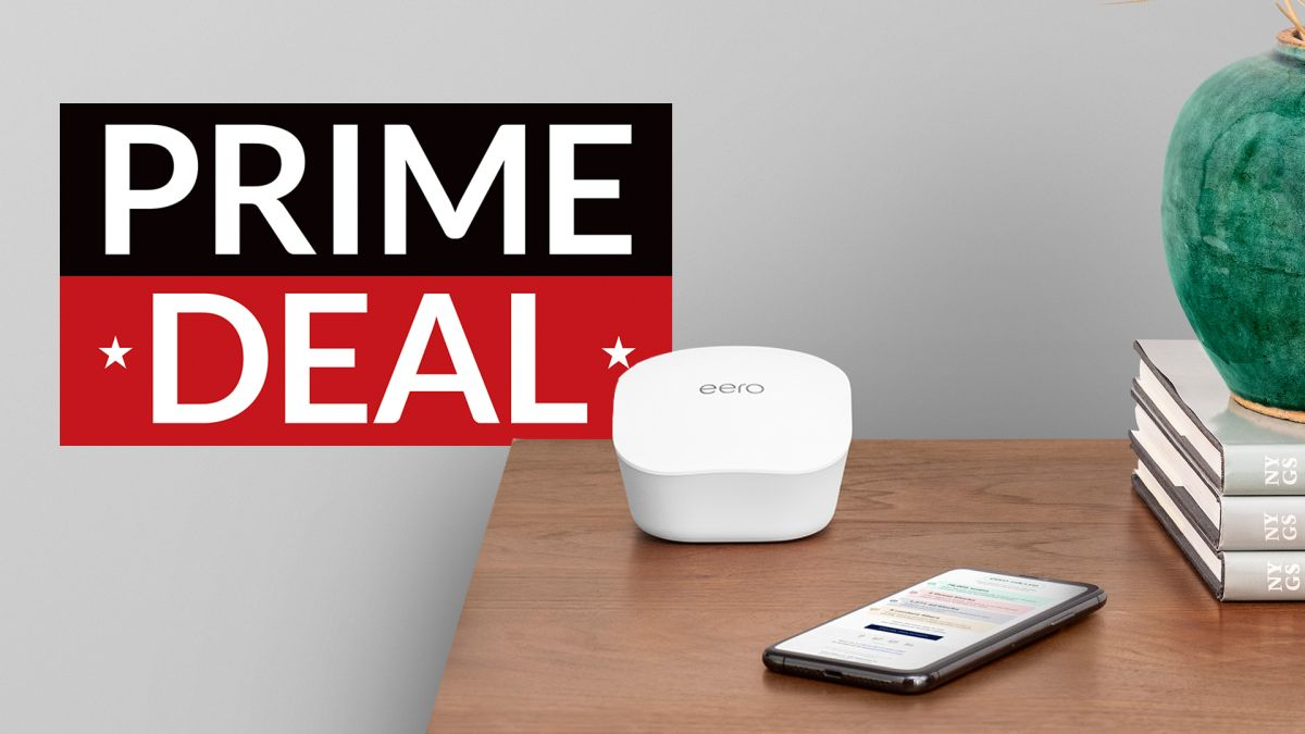 Early Amazon Prime Day deal saves you £100 on Eero mesh Wi-Fi whole-home system