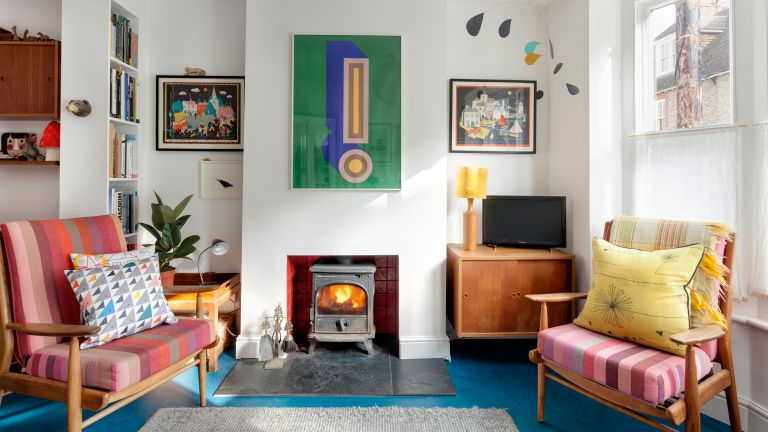 12 Picturesque Small Living Room Design: 12 Mid-century Modern Decor Ideas