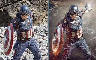 Superhero portraits