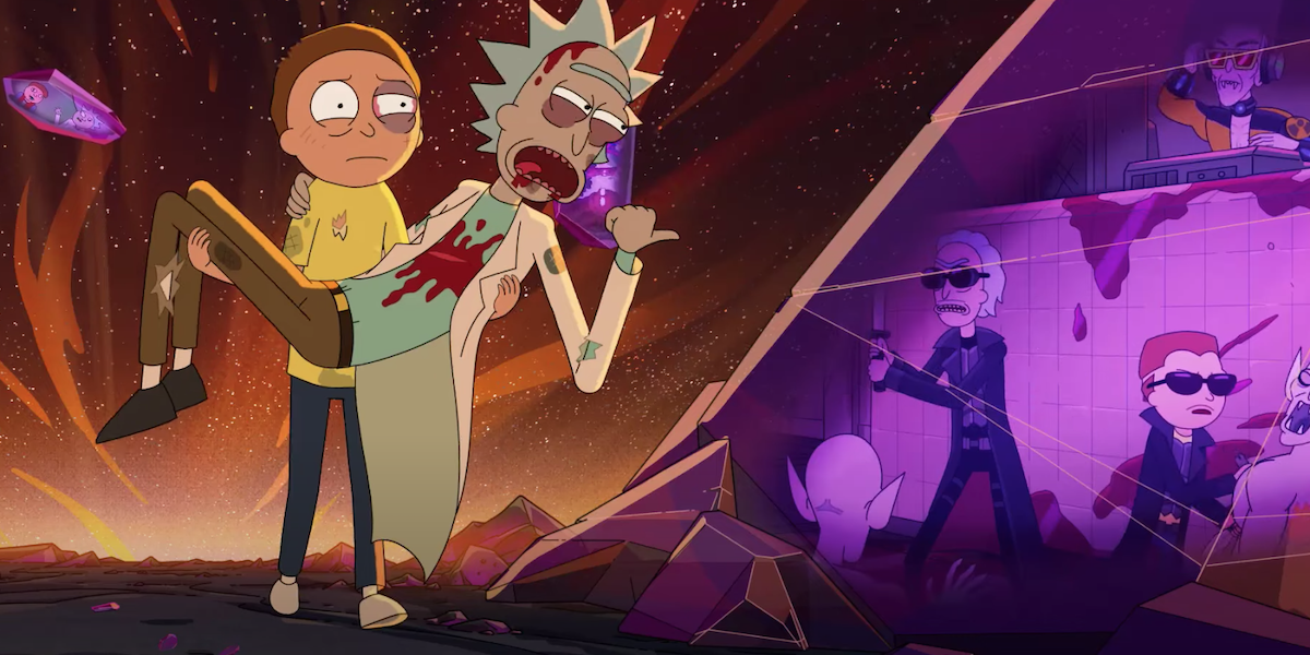 rick and morty's blade versions in season 5