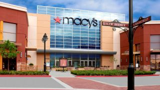 Macy's at a mall