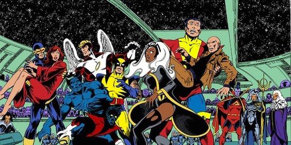 X-Men Marvel comics space