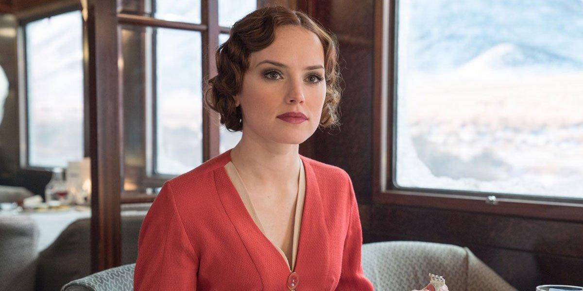 Daisy Ridley in Murder Mystery