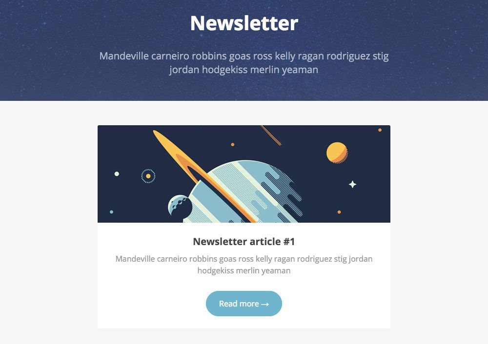 8 free newsletter templates | Creative Bloq