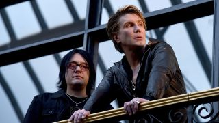 Robby Takac and John Rzeznik of rock band Goo Goo Dolls