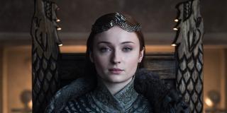 Sophie Turner in Game of Thrones' finale