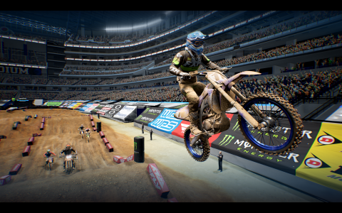 A Supercross 4 screenshot.