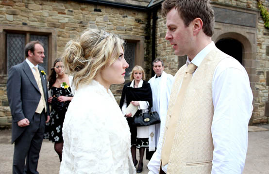 Lexi warns Chas not to ruin her wedding