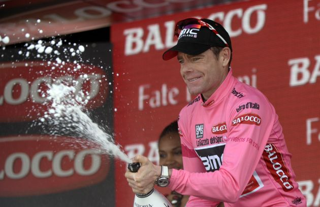 Cadel Evans on stage ten of the 2014 Giro d'Italia