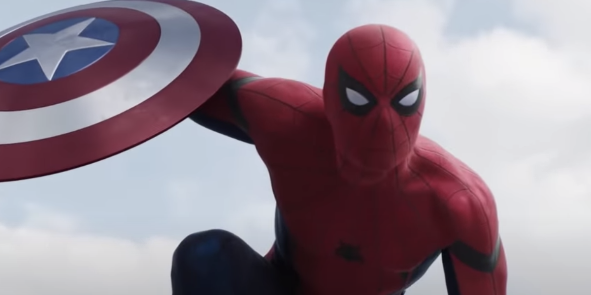 Spidey enters the MCU