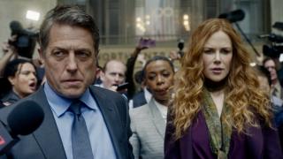 Nicole Kidman and Hugh Grant in HBO's The Undoing