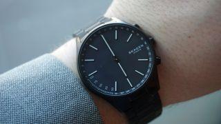 Skagen Holst in black (Image credit: TechRadar)