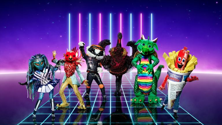 Singers from The Masked Singer UK season 2 in costumes