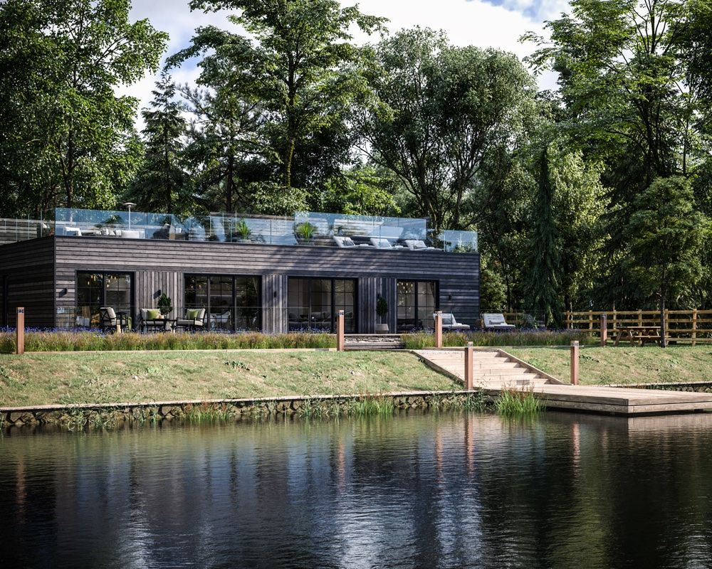 See inside Cornwall's newest boutique barns for a high-style holiday