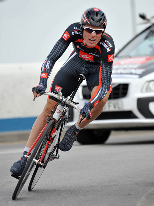 Luis Leon Sanchez wins final TT, Tour of the Algarve 2010, stage 5 TT