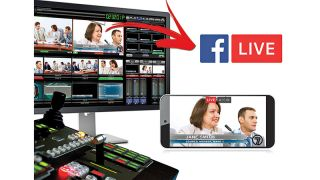 Broadcast Pix Adds Native Facebook Live Support to Integrated Production Switchers