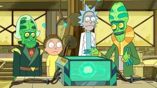 "A miniuniverse that powers a car battery? Only in the world of ""Rick and Morty."""