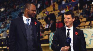 Keane and Vieira