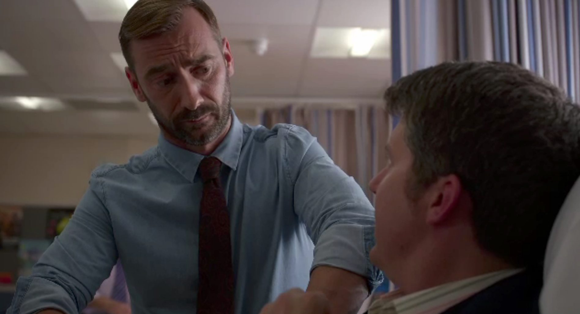 Holby City star Charlie Condou reveals that he's left the series