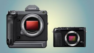 Fujifilm GFX 100 Fujifilm X-E4