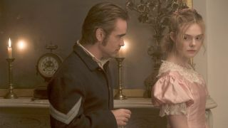 Colin Farrell stirs up emotions at a girls' school